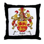 Kabel Family Crest Throw Pillow