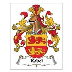 Kabel Family Crest Small Poster
