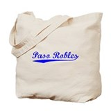 Vintage Paso Robles (Blue) Tote Bag