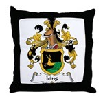 Ising Family Crest Throw Pillow