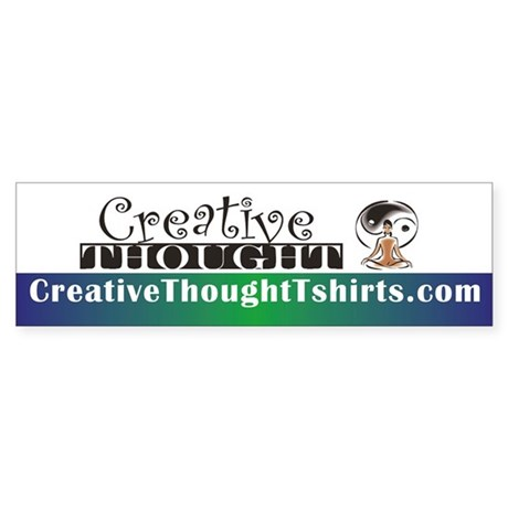 CreativeThought Bumper Sticker