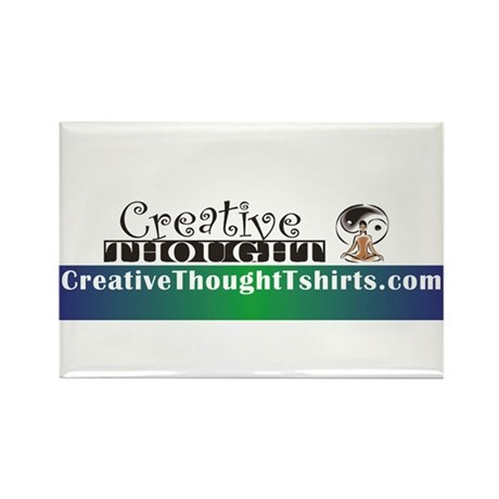 CreativeThought Rectangle Magnet