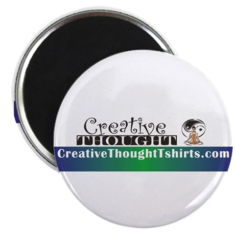 "CreativeThought 2.25"" Magnet (10 pack)"