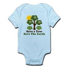 Save A Tree Save the Earth Infant Bodysuit