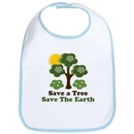 Save A Tree Save the Earth Bib