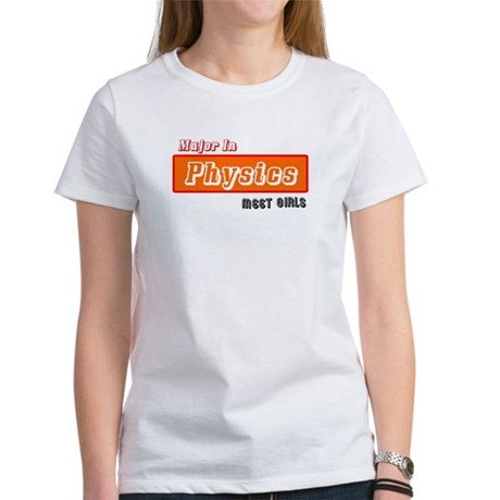 Major in Physics Women's T-Shirt