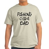 Fishing dad Mens Light T-shirts