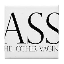 Ass.... (large) Tile Coaster