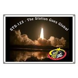 STS-123 - The Station Goes Global Poster