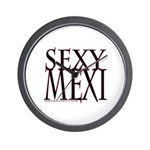 SEXY MEXI Wall Clock