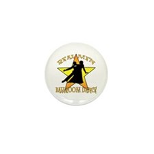 Real Men Ballroom Dance Mini Button (10 pack)
