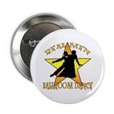 "Real Men Ballroom Dance 2.25"" Button (100 pack)"