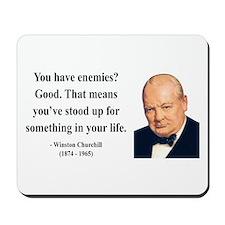 Winston Churchill 17 Mousepad