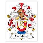 Hornberg Family Crest Small Poster