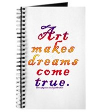 Art makes dreams come true Journal