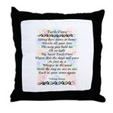 TurtleDove Poem Throw Pillow