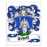 Schaff Family Crest Small Poster