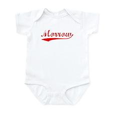 Vintage Morrow (Red) Infant Bodysuit