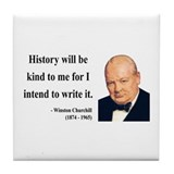 Winston Churchill 20 Tile Coaster
