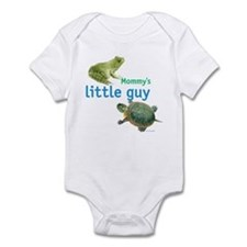 Mommy's little guy Infant Bodysuit