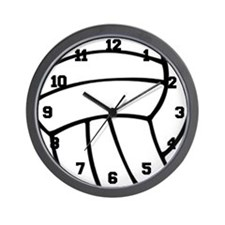 Volleyball Wall Clock