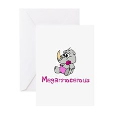 Megannocerous Greeting Card