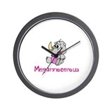 Megannocerous Wall Clock