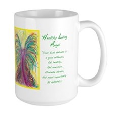 Healthy Living Angel Mug