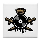 House Music Royalty Tile Coaster