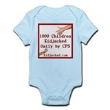 1000 Children Kidjacked Infant Bodysuit