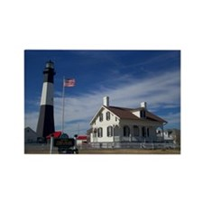 Tybee Island Lighthouse, GA. Rectangle Magnet