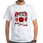Schenk Family Crest White T-Shirt