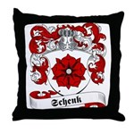 Schenk Family Crest Throw Pillow