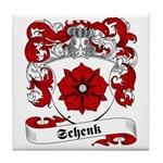 Schenk Family Crest Tile Coaster