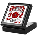Schenk Family Crest Keepsake Box