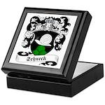 Schneck Family Crest Keepsake Box