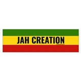 Rasta Jah Creation Bumper Sticker (50 pk)