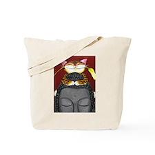 Cat Art ~Peace Accord II Tote Bag