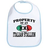 Property of an Italian Stallion Bib