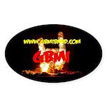 GBMI Band Oval Sticker (10 pk)