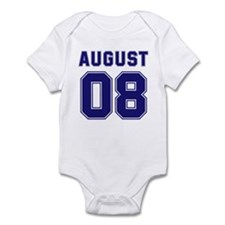 August 08 Infant Bodysuit