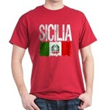Classic Retro Sicilia T-Shirt