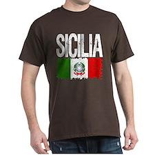 Classic Retro Sicilia T-Shirt