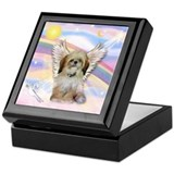 Angel Shih Tzu in Clouds Keepsake Box