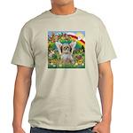 Rainbow & Shih Tzu Light T-Shirt