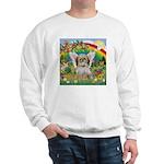 Rainbow & Shih Tzu Sweatshirt