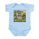 Rainbow & Shih Tzu Infant Bodysuit