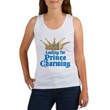 Looking For Prince Charming Women's Tank Top
