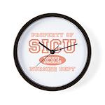 Property of SICU Nurse Wall Clock