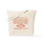 Property of SICU Nurse Tote Bag